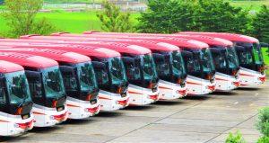 貸切バスの用途