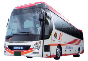 大型3列シート 雅~MIYABI~ | 貸切バス ラインナップ